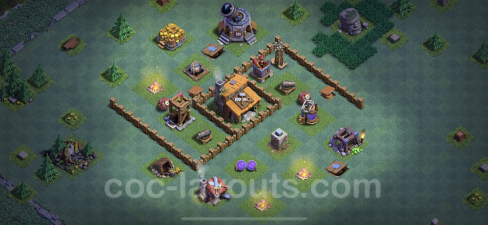 Best Builder Hall Level 3 Base - Clash of Clans 2020 - BH3 - (#10)