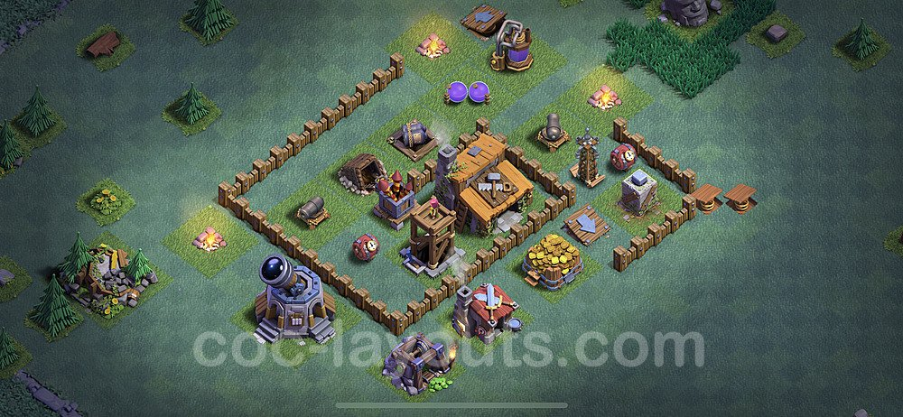 Best Builder Hall Level 3 Base - Clash of Clans 2020 - BH3 - (#11)