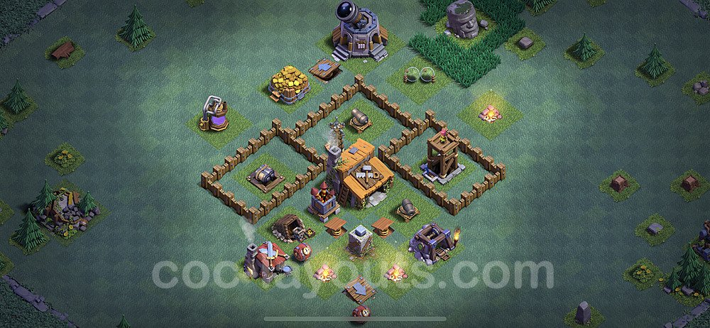 Best Builder Hall Level 3 Base - Clash of Clans 2020 - BH3 - (#2)