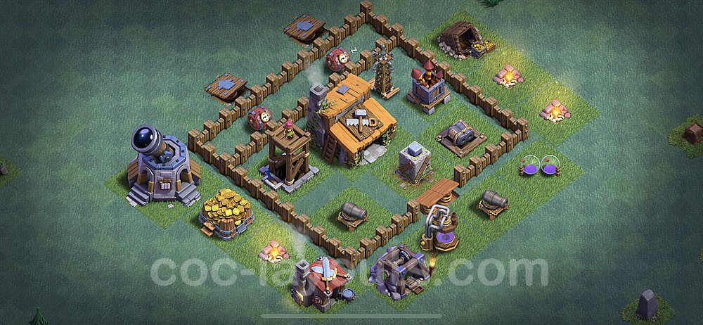 Best Builder Hall Level 3 Base - Clash of Clans 2020 - BH3 - (#8)