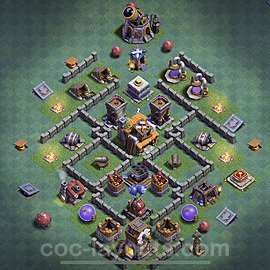 Best Builder Hall Level 5 Max Levels Base with Link - Copy Design 2020 - BH5 - #24