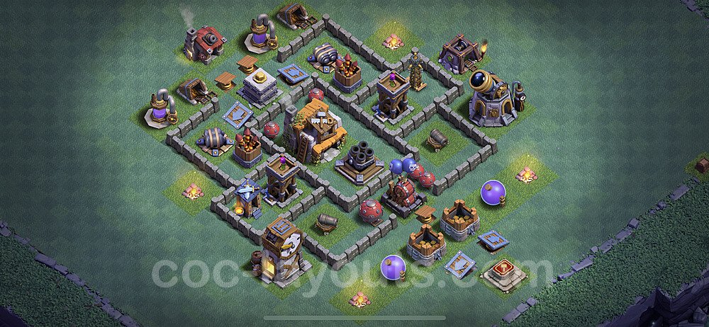 Best Builder Hall Level 5 Base with Link - Clash of Clans 2020 - BH5 Copy - (#17)
