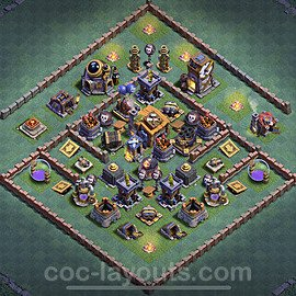 Top Builder Hall Level 7 Base Layouts With Links For Coc Clash Of Clans 2020 Bh7 Page4