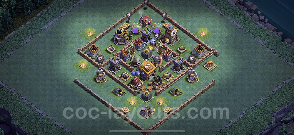 Layout da base Vila do Construtor CV7 com link 2020, #6