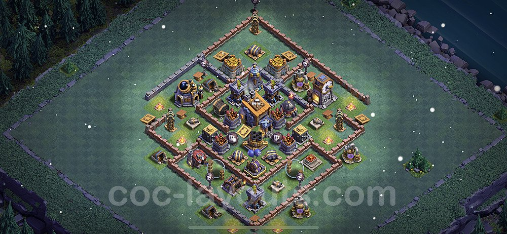 Layout da base Vila do Construtor CV8 com link 2021, #20