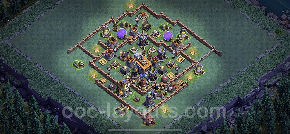 Best Builder Hall Level 8 Base with Link - Clash of Clans 2020 - BH8 Copy - (#6)