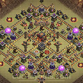TH10 Max Levels War Base Plan with Link, Copy Town Hall 10 Design 2020, #5