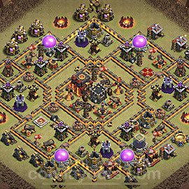 TH10 Max Levels War Base Plan with Link, Copy Town Hall 10 Design 2020, #9