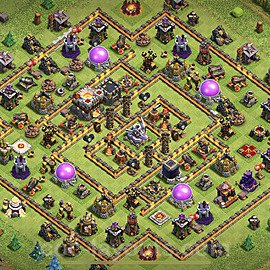 Anti Everything TH11 Base Plan with Link, Copy Town Hall 11 Design 2020, #34