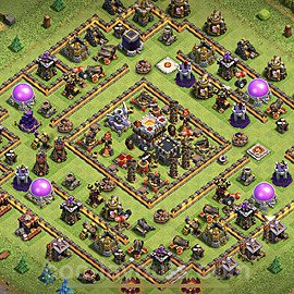 Anti GoWiWi / GoWiPe TH11 Base Plan with Link, Copy Town Hall 11 Design 2020, #36