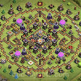Base plan TH11 (design / layout) with Link for Farming 2020, #4