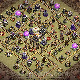 TH11 War Base Plan with Link, Copy Town Hall 11 Design 2020, #1