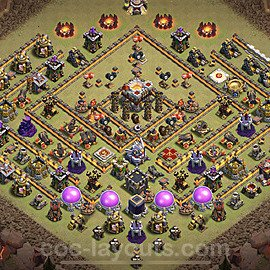 TH11 War Base Plan with Link, Copy Town Hall 11 Design 2020, #2