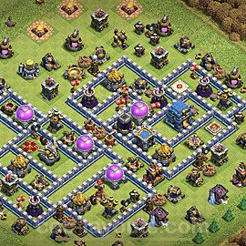Base plan TH12 Max Levels with Link for Farming 2020, #3