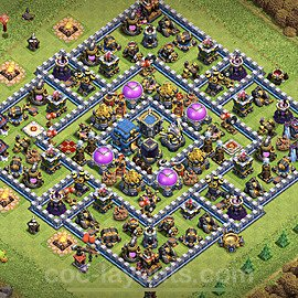 Base plan TH12 Max Levels with Link for Farming 2020, #4
