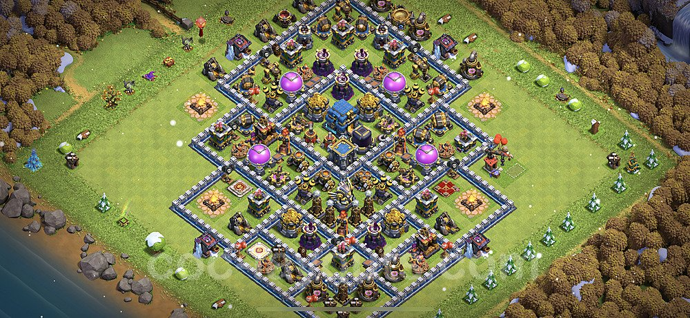 Base plan TH12 Max Levels with Link for Farming 2021, #28