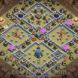 TH12 Max Levels War Base Plan with Link, Copy Town Hall 12 Design 2021, #16