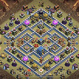 TH12 War Base Plan with Link, Copy Town Hall 12 Design 2020, #2