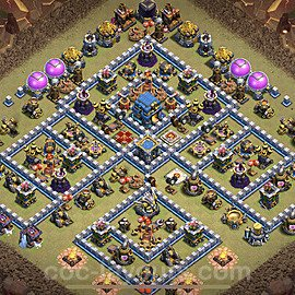 TH12 War Base Plan with Link, Copy Town Hall 12 Design 2021, #20