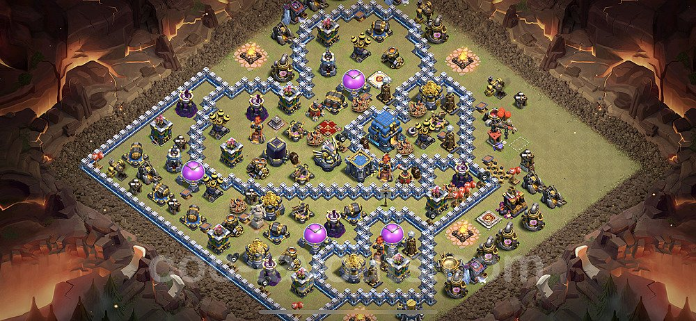 TH12 War Base Plan with Link, Copy Town Hall 12 Design 2021, #25
