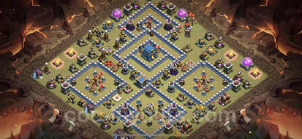 TH12 Max Levels War Base Plan with Link, Copy Town Hall 12 Design 2020, #5