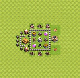 Base plan TH3 (design / layout) for Farming, #9
