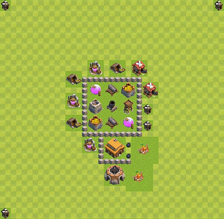 Base plan TH3 (design / layout) for Farming, #21