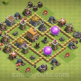 Best TH5 Base Layouts with Links 2020 - Copy Town Hall Level 5 COC Bases,  Page2