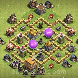Diseño de aldea para farming - Copiar Ayuntamiento 5 al Maximo - Full COC TH5 Perfecta Distribucion 2021 + Enlace - #111