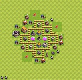 Base plan TH5 (design / layout) for Farming, #23