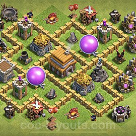 Base plan TH5 (design / layout) with Link for Farming 2020, #48