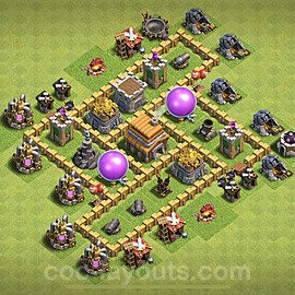 Base plan TH5 (design / layout) with Link for Farming 2020, #51