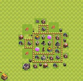 Base plan TH5 (design / layout) for Farming, #7