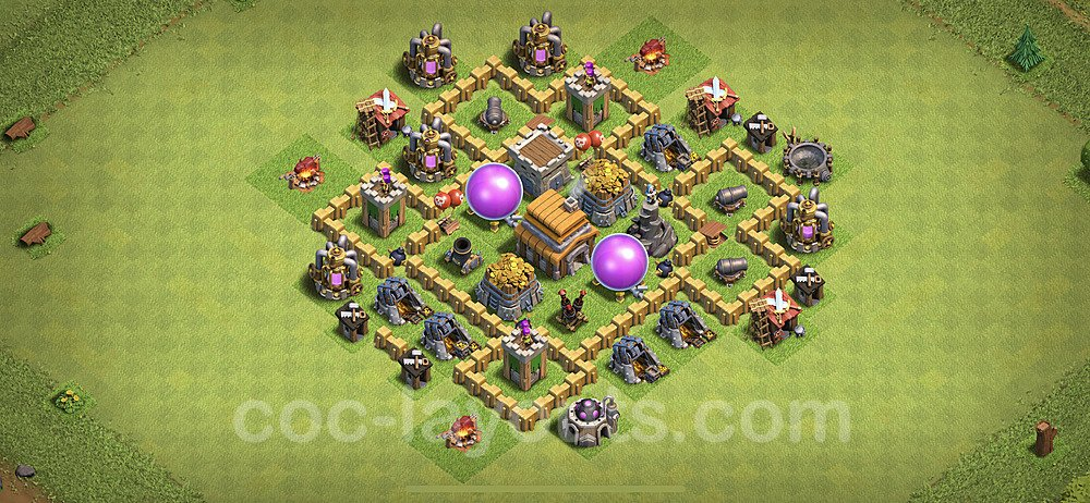 Base plan TH5 (design / layout) with Link for Farming 2020, #49