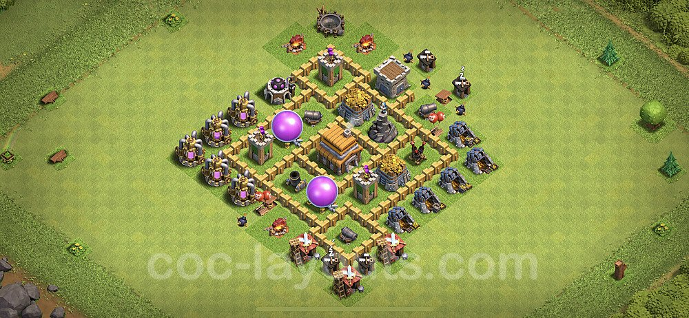 Base plan TH5 (design / layout) with Link for Farming 2020, #53