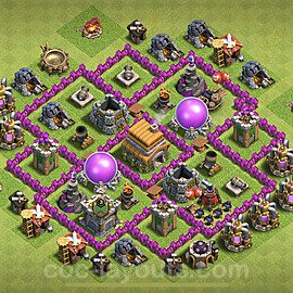 Base plan TH6 (design / layout) with Link for Farming 2020, #135