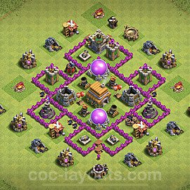 Base plan TH6 (design / layout) with Link for Farming 2020, #64