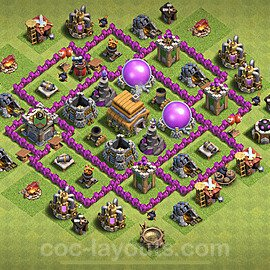 Base plan TH6 (design / layout) with Link for Farming 2020, #67