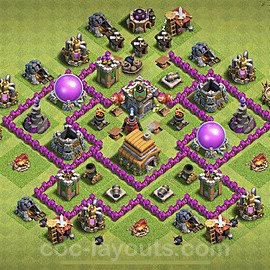 Base plan TH6 (design / layout) with Link for Farming 2020, #68