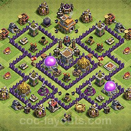 Base plan TH7 (design / layout) with Link for Farming 2020, #115