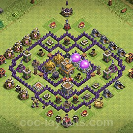 Base plan TH7 (design / layout) with Link for Farming 2020, #118