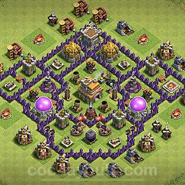 Base plan TH7 (design / layout) with Link for Farming 2020, #119
