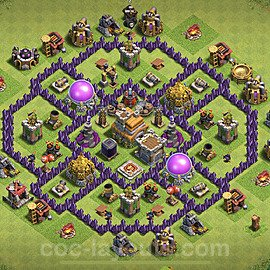 Base plan TH7 Max Levels with Link for Farming 2021, #235