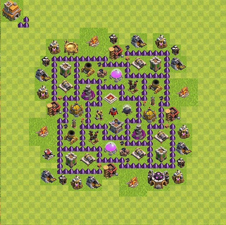 plan de base de clash of clans pour farming  u2013 h u00f4tel de