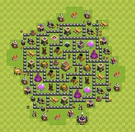 Clash Of Clans Best Bases For Defence Trophies Plan