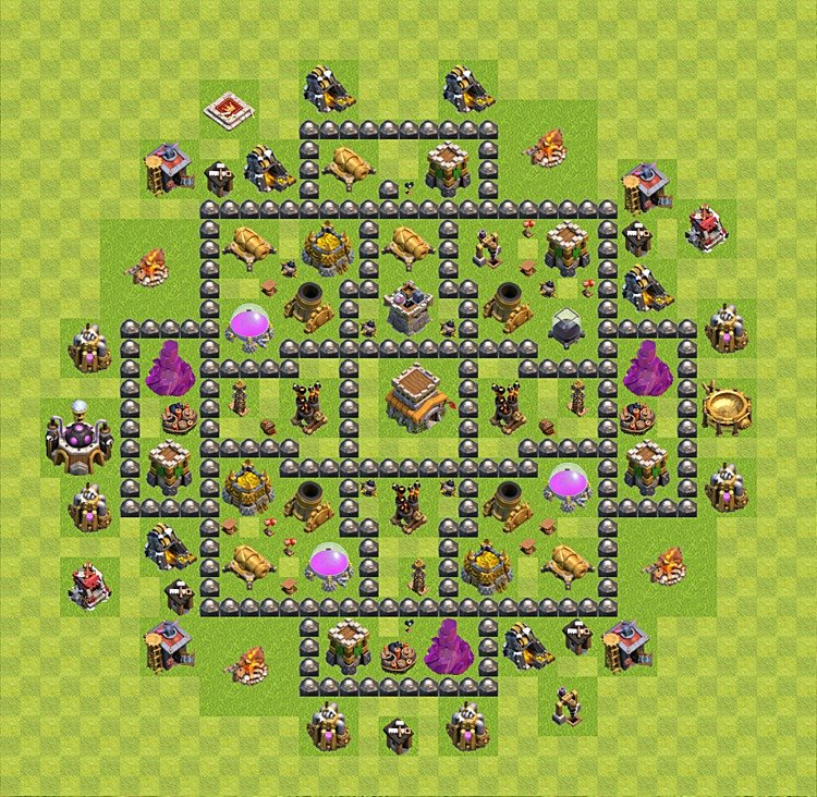 Best town hall 9 trophy base car pictures