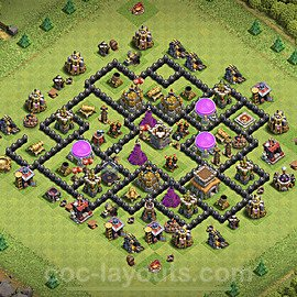 Base plan TH8 (design / layout) with Link for Farming 2020, #131