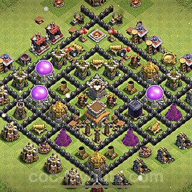 Base plan TH8 (design / layout) with Link for Farming 2021, #274