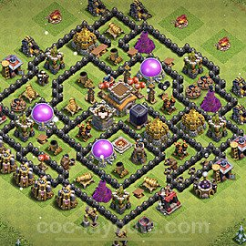 Base plan TH8 (design / layout) with Link for Farming 2021, #278